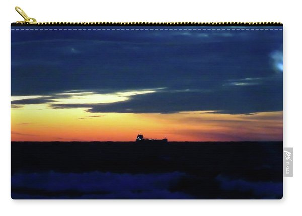 Sunset On Winter Solstice Eve Carry-all Pouch