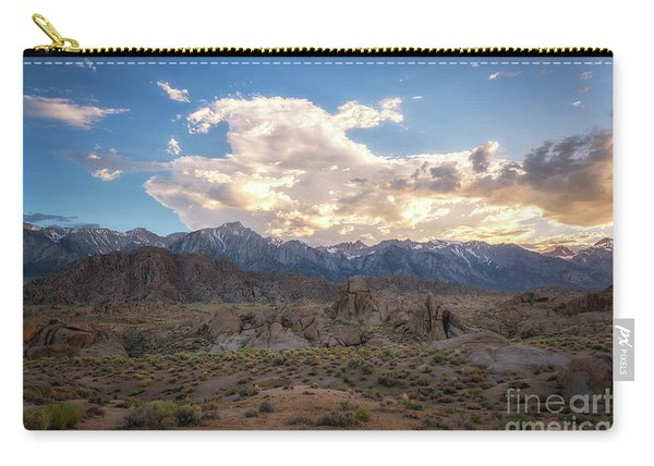 Sunset Over Alabama Hills  Carry-all Pouch