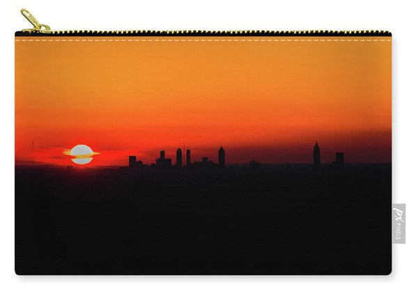 Sunset Over Atlanta Carry-all Pouch