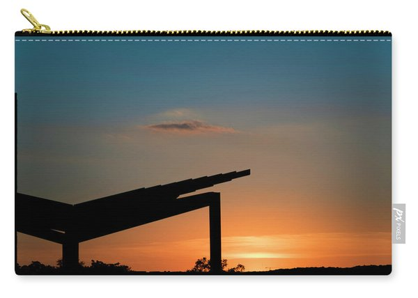 Sunset Over Austin City Limits Festival Week One 2017 Carry-all Pouch