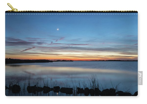 Sunset Over Back Bay Carry-all Pouch