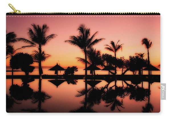 Sunset Over Bali Carry-all Pouch