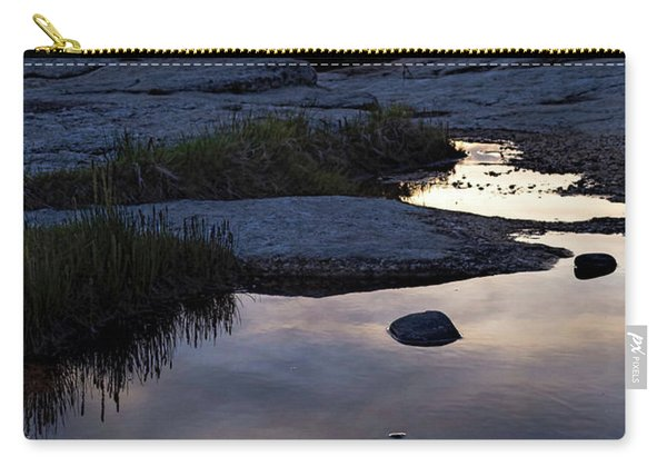 Sunset Over Boothbay Harbor Maine  -23095-23099 Carry-all Pouch