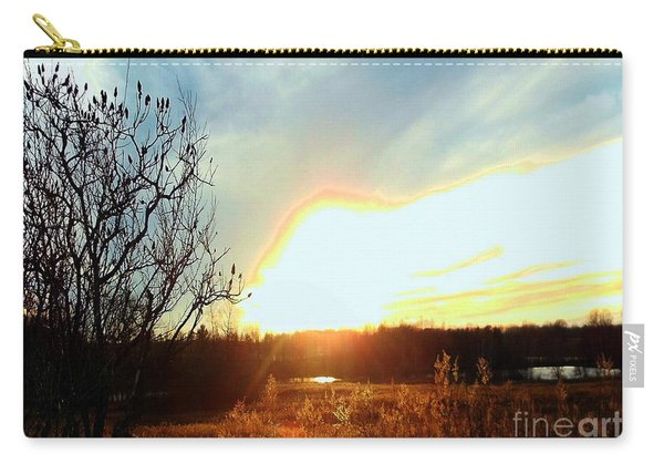 Sunset Over Fields Carry-all Pouch