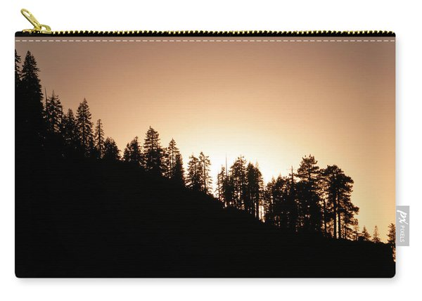 Sunset Over Glacier Point Carry-all Pouch
