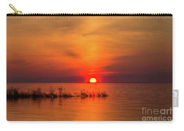 Sunset Over Lake Michigan Carry-all Pouch