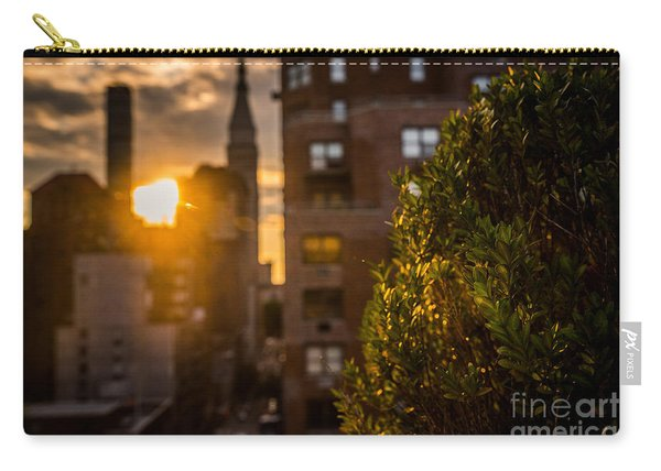 Sunset Over Manhattan New York City Carry-all Pouch