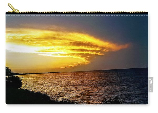 Sunset Over Mobile Bay Carry-all Pouch