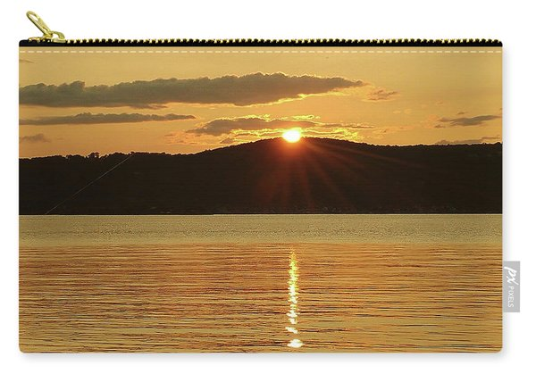 Sunset Over Piermont Carry-all Pouch