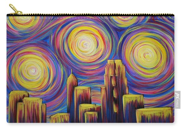 Sunset Over Raleigh Carry-all Pouch