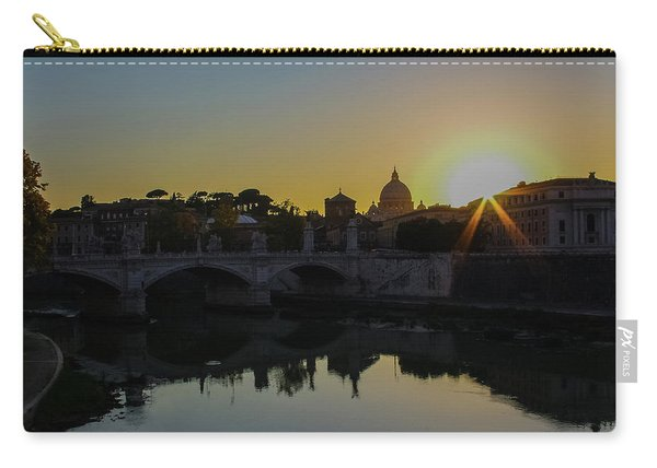 Sunset Over St Peters Carry-all Pouch