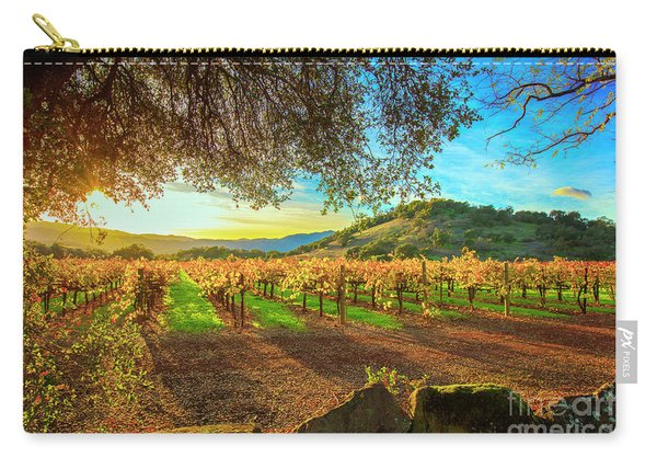 Sunset Over Napa  Carry-all Pouch