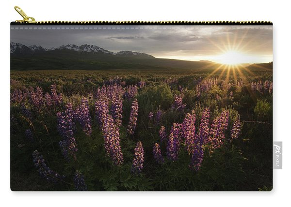 Sunset Over The Gore Range Carry-all Pouch