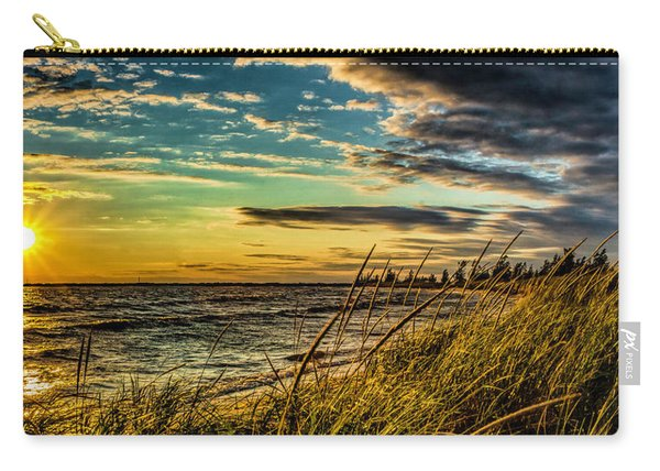 Sunset Over The Great Lake Carry-all Pouch