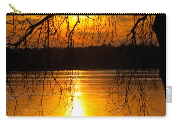 Sunset Over The Lake Carry-all Pouch