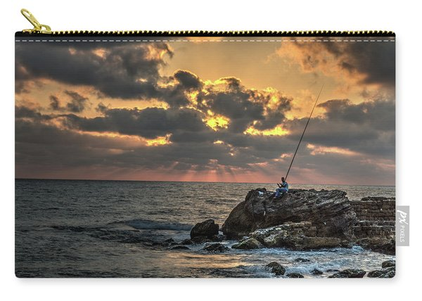 Sunset Over The Mediterranean 1 Carry-all Pouch