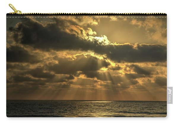 Sunset Over The Mediterranean 5 Carry-all Pouch