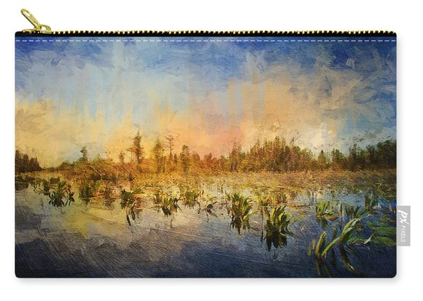 Sunset Over The Okefenokee Carry-all Pouch