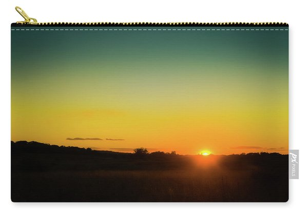 Sunset Over The Prairie Carry-all Pouch