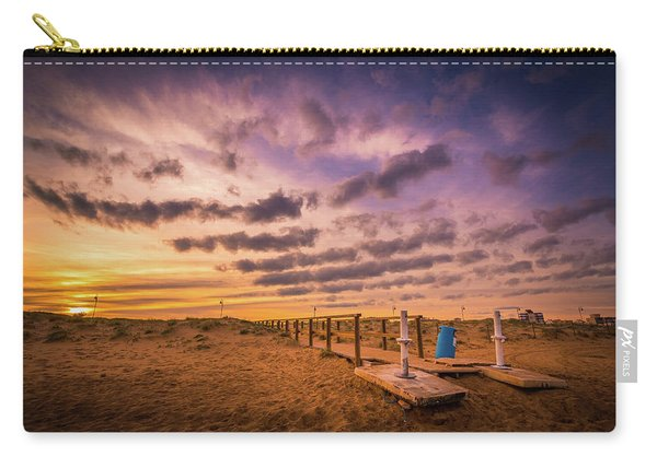 Sunset Over The Walkway. Carry-all Pouch