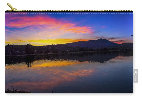 Sunset Panorama Of Mt. Tam And Richardson Bay Carry-all Pouch