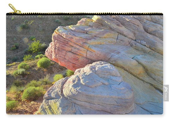 Sunset Pastels In Valley Of Fire Carry-all Pouch