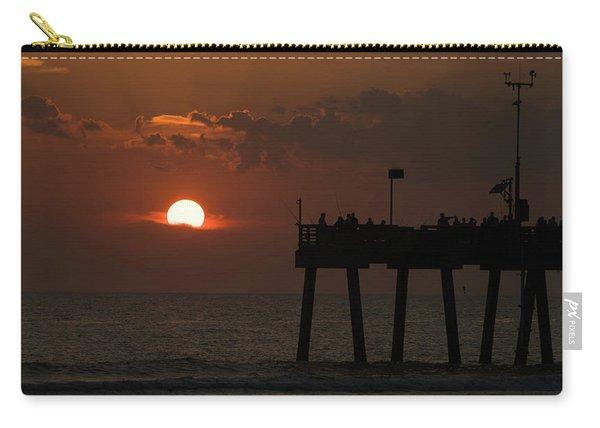 Sunset Pier Venice Florida Carry-all Pouch