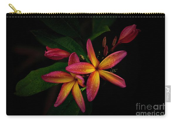 Sunset Plumerias In Bloom #2 Carry-all Pouch