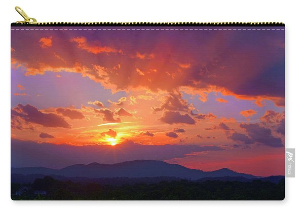 Sunset Rays At Smith Mountain Lake Carry-all Pouch