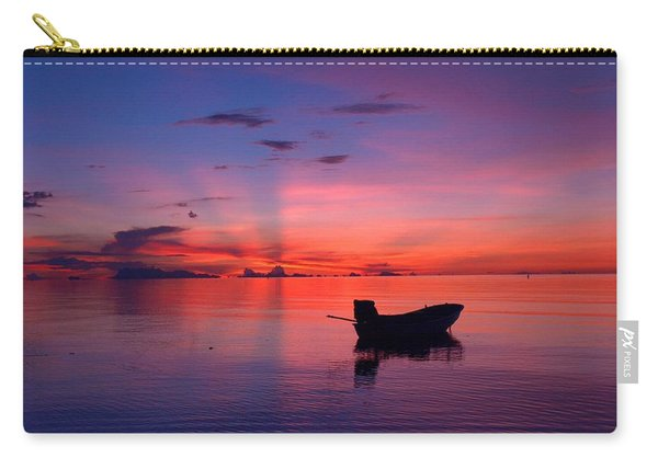 Sunset Rays Carry-all Pouch