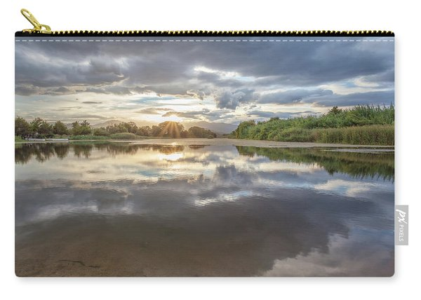 Sunset Reflected Carry-all Pouch