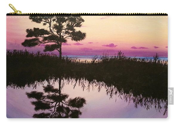 Sunset Reflection Carry-all Pouch