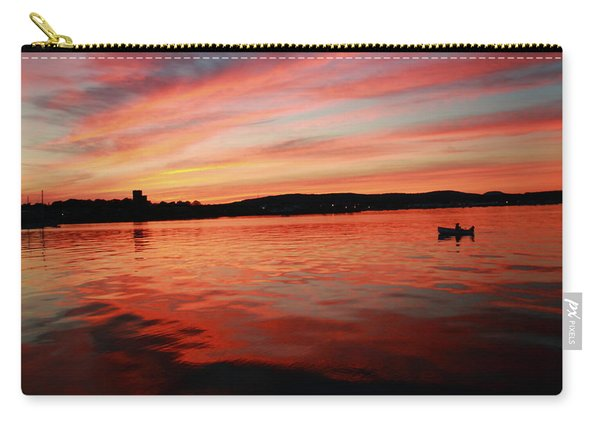 Sunset Row Carry-all Pouch