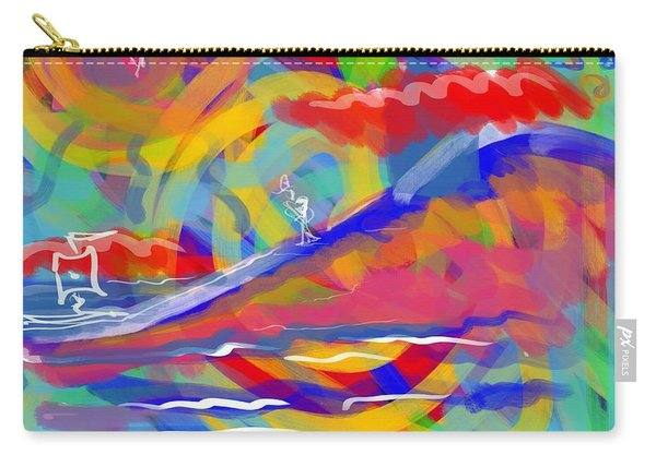 Sunset Sailboat Carry-all Pouch