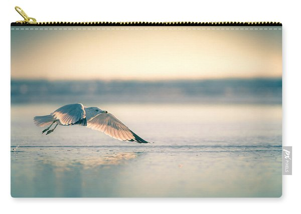 Sunset Seagull Takeoffs Carry-all Pouch