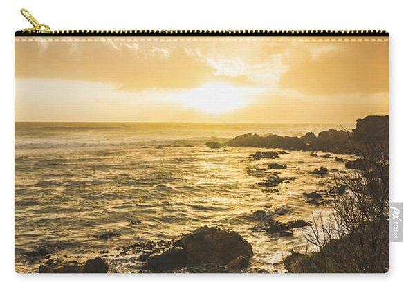 Sunset Seascape Carry-all Pouch