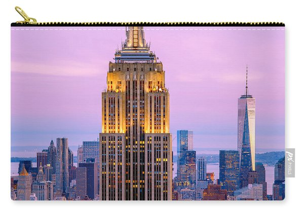 Sunset Skyscrapers Carry-all Pouch