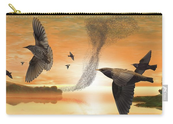 Murmuration Carry-all Pouch