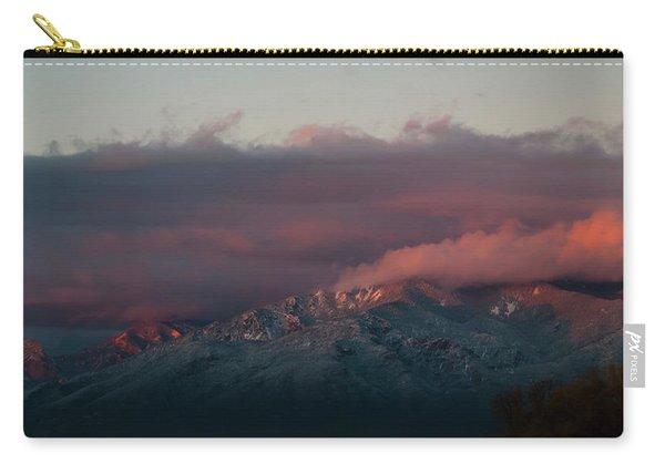 Sunset Storm On The Sangre De Cristos Carry-all Pouch