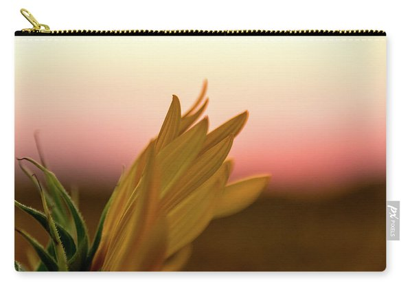 Sunset Sunflower Carry-all Pouch