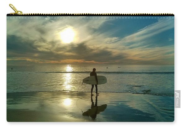 Sunset Surfer Carry-all Pouch
