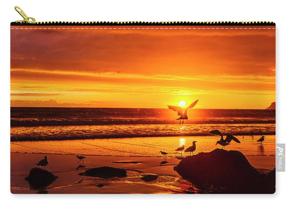 Sunset Surprise Pano Carry-all Pouch