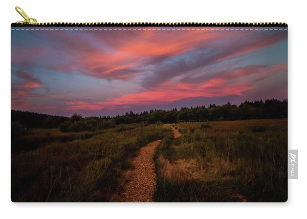 Sunset Trail Walk Carry-all Pouch