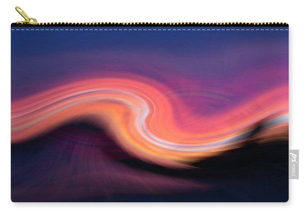 Sunset Twirl Carry-all Pouch