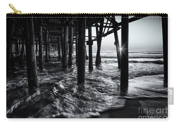 Sunset Under The Santa Monica Pier Carry-all Pouch