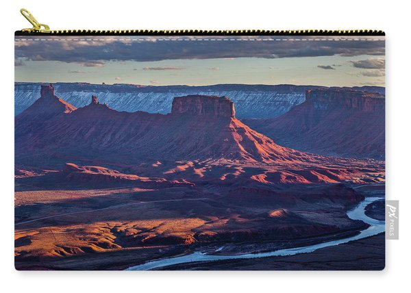 Sunset View From Omg Point Carry-all Pouch