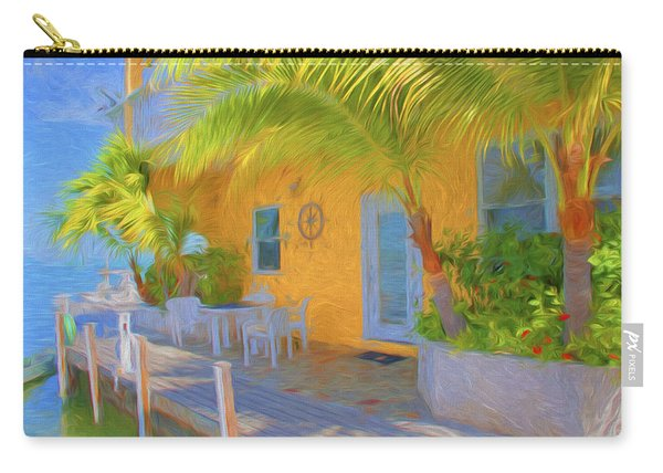 Sunset Villas Waterfront Apartment Carry-all Pouch