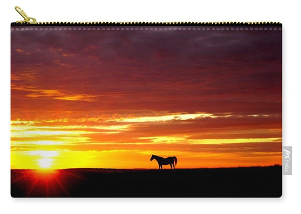 Sunset Watcher Carry-all Pouch