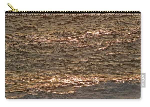 Sunset Waves Over Carmel Beach Carry-all Pouch