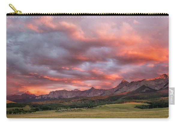 Sunset With Rain Clouds Carry-all Pouch